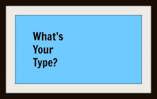 Administrators: What's Your Type?