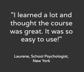 Online Course Testimonial
