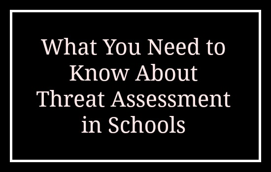 School Threat Assessment FAQ
