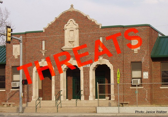 Threats to schools